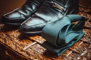 ネクタイ靴